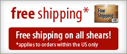 free shipping on all shears